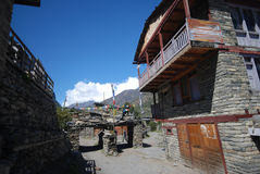 Small Nepali village Stock Image