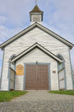 Small North American Historic Christian Church. A small wood frame Christian church built in the early 20th century Stock Photography