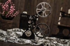 Small Nostalgic Decorative Film Camera Stock Photos