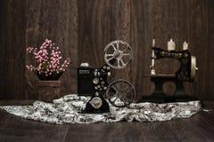 Small Nostalgic Decorative Film Camera Stock Image