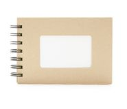 Small note book with blank title section Royalty Free Stock Photos