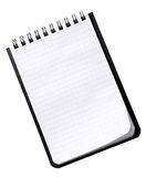 Small Notebook On A White Royalty Free Stock Photos