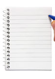 Small notepad Stock Image