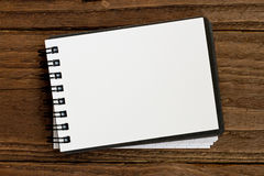 Small notepad Backdrop Stock Photos