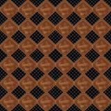 Small objects geometric seamless pattern Stock Photography