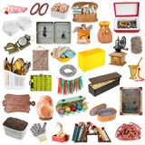 Small objects of rural style Royalty Free Stock Image
