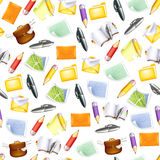 Small objects, seamless pattern Stock Photography