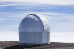 Small observatory / telescope on Mauna Kea Royalty Free Stock Images