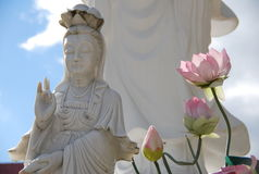 Small Offerings to Buddha stock image