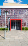 Small office building entrance Royalty Free Stock Image