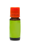 Small oil bottle Royalty Free Stock Photo