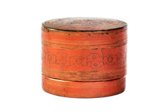 Small old antique lacquer wares Royalty Free Stock Photos