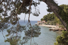 Small old apartment. On island Brac Royalty Free Stock Photography