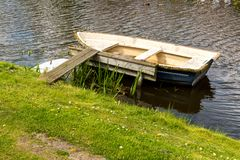 Small old boat Royalty Free Stock Photo