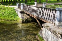 The small old bridge Stock Photo