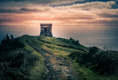 Small old castle Royalty Free Stock Photos
