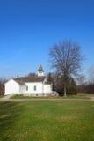 Small old church. Small historic church in Michigan Stock Image