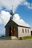 Small old church in the mountains Stock Photography