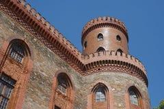 Small and old city - Kamieniec zabkowicki - Poland - castle Stock Photo