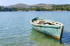 Small old fishing boat Royalty Free Stock Photography