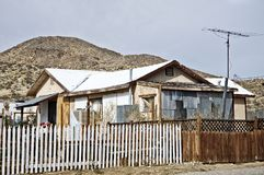 Small old house in Central California Royalty Free Stock Images