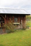 Small old house on ranch Royalty Free Stock Photo
