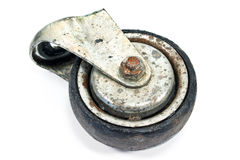 Small old rusty  wheel Royalty Free Stock Photography