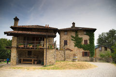 Small old village Royalty Free Stock Image