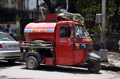 Small old water truck Royalty Free Stock Photography