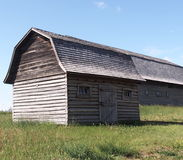 Small Old Wooden Barn Royalty Free Stock Photography