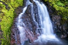 Small Olympic Waterfall Stock Image