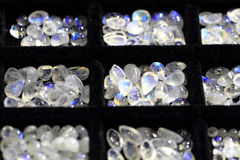 Small opalite mineral collection Stock Photo