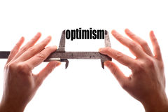 Small optimism concept Royalty Free Stock Images