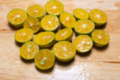Small oranges Stock Images