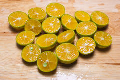 Small oranges Royalty Free Stock Image