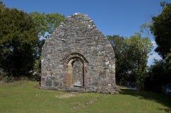 Small Oratory at Innisfallen Abbey on Innisfallen Island Stock Photography