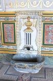 Small ornate fountain at the Topkapi Palace, Turkey Stock Image