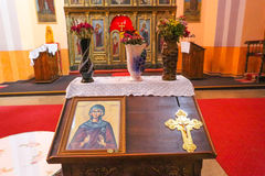 Small orthodox church in central Serbia Stock Images