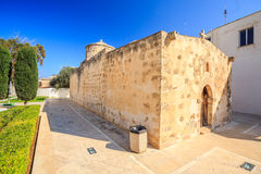 Small orthodox church on Cyprus Royalty Free Stock Images