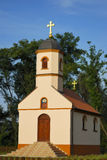 Small orthodox monastery. Small orthodox church in a beautiful landscape Stock Photography