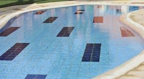 Small paddling pool at a hotel Stock Image