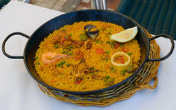 Small paella Royalty Free Stock Image