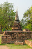 Small Pagoda in Ayutthaya province Stock Image