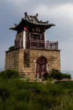 Small pagoda in a rural area, Shanxi Province, China Stock Image