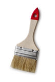A small paint brush on a white background Stock Photo