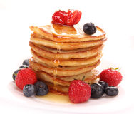 Small pancakes Royalty Free Stock Image