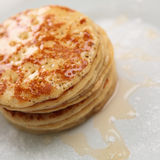 Small Pancakes Royalty Free Stock Photography