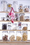 Small Pantry. Housewife, Containing Necessary To Cook stock images
