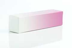 Small paper box for parfume Stock Image