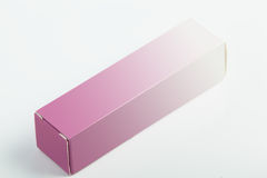Small paper box for parfume Royalty Free Stock Image